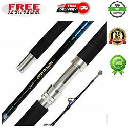 Fiblink Saltwater Offshore Heavy Trolling Fishing Rod Big Game Conventional Boat