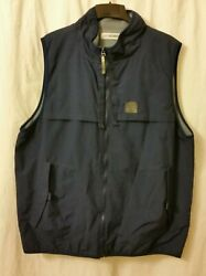 Canyon River Blues Outdoor Blue Vest Pockets Fleece Lining Hunting Mens Xl