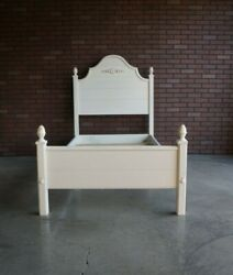 Twin Bed Frame French Farmhouse Bed Country Cottage Bed By Ethan Allen