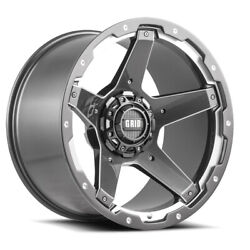 Grid Wheels For Gd04 Model Gloss Graphite 20x9 Size Piece Cast Wheels 42987g1525