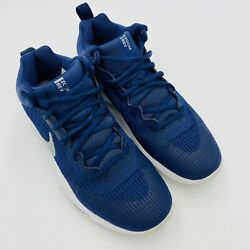 Nike Zoom Rev Womenand039s Basketball Shoes Sneakers Active Wear Navy Blue Us 8.5