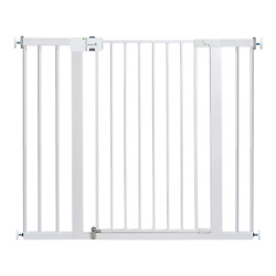 Safety 1st Easy Install Extra Tall And Wide Baby Gate With Pressure Mount Fasten