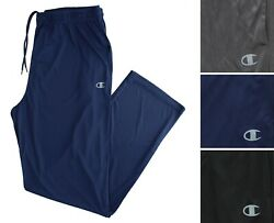 Champion Activewear Pants Authentic Athleticwear Double Dry Big And Tall Poly Pant