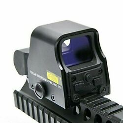 Mini 553 Holographic Reflex Sight Red Dot Rifle Scope Tactical Light Hunting
