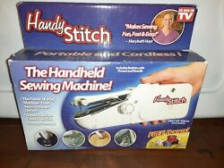 Hand Held Portable Sewing Machine By Handy Stitch Brand New