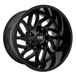 Hardrock Offroad Destroyer 20x12 8x165.1 Offset -51 Gloss Black Quantity Of 4