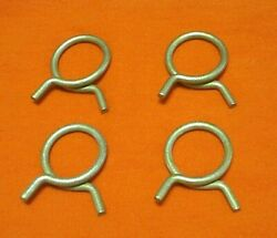 4 Wire Hose Clamps 15/16 Vintage Pcv Vacuum Ford Mercury Lincoln Mustang Cougar