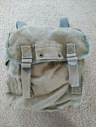 Genuine US Army Green Small Backpack Bag $14.99