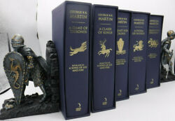 A Game Of Thrones Blue Uk Slipcase Set 1st George R R Martin