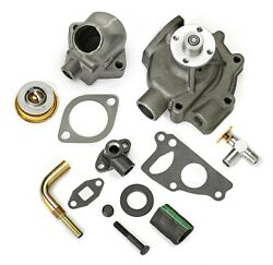 1935 1936 1937 Plymouth Dodge Water Pump And Thermostat Housing Cooling Package