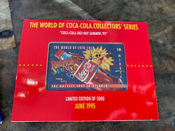 The World Of Coca Cola Collectors Series Calling Card 1995 - Limited Edition