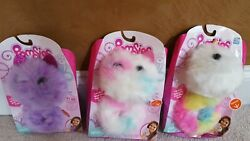 Lot Of 3 Pomsies Unicorn Plush Luna Patches And Speckles Wearable Pom-pom Pet New