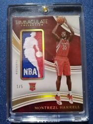 2015 Montrezl Harrell Immaculate Logoman Patch Non Auto 1/5 Rc Lakers Ebay 1/1