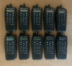 Motorola Xpr6580 Tbro Gps 800mhz Radio And Antenna Only Aah55uch9lb1an - 10 Pc