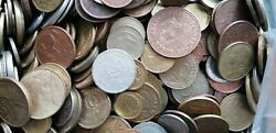 World Coin Mix Lot Of 200 Random Coins Mixed Countries And Years