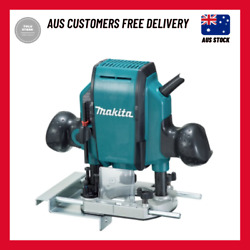 New Makita Plunge Router Mt Series 900w 8mm 3/8 27000rpm Corded Power Tool