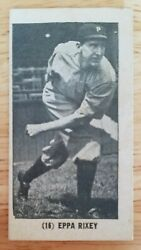 1928 W502 Game Cards Eppa Rixey Vg/ex