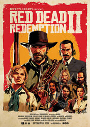 Red Dead Redemption Ii Game Poster
