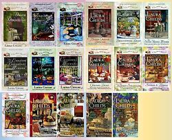 Tea Shop Mysteries Series Collection Set Books 1-17 Paperback By Laura Childs