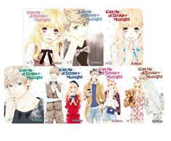 Kiss Me At The Stroke Of Midnight Series Manga Collection Set Of Volumes 1-7