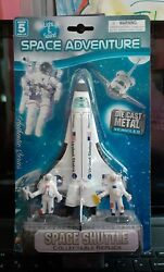 Adventure Planet Space Shuttle Discovery Collectible Replica Die Cast Metal