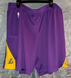 New 2020-2021 Nba Nike Los Angeles Lakers Standard Fir Issue Practice Shorts