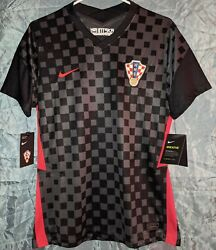 Nike Croatia Hns Woman Jersey 100 Authentic Soccer Jersey Size-l