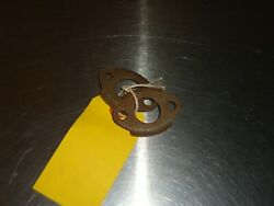 2 New Nos Oem Gm Oil Pump Screen Cover Reinforcement 839634 1940-1952 Chevy