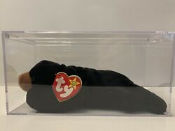 Ty Beanie Baby Andldquoblackieandrdquo Retired Extremely Rare Hand Made Multiple Errors