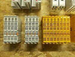 Beckhoff Assorted Plc Modules Sold As Lot Includes Safety And Non/safety I/o