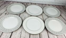 Lot Of 6 10.25 Imperial China By W Dalton Whitney 5871 And Sincerity 318 Silver