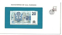 Banknotes Of All Nations Czech Republic 20 Korun 1994 With Stamp Unc