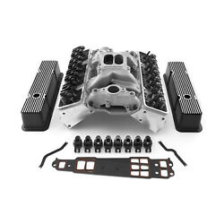 Chevy Sbc 350 Straight Cylinder Head Top End Engine Combo Kit - Outlaw Series