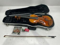 Dand039luca Prov-ca900-44 Strauss 900 J.s. Antique Finish Violin 4/4 With Skb Molded