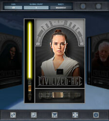 Topps Star Wars Card Trader - For A More Civilized Age - Rey Digital