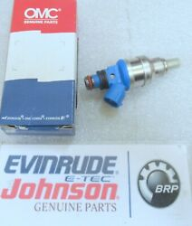New Oem Omc Johnson Evinrude 5030708 - Fuel Injector Assembly Factory Boat Part