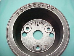 1963 1964 1965 Chevy Truck Pulley Power Steering 2 Groove Cast Iron C10 C20 C30
