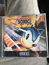 Sealed Sonic The Hedgehog Sonic Boom Music Cd 1993 Limited Collectorand039s Edition