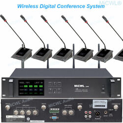 Pro 32 Table Digital Wireless Gooseneck Microphone Conference System Video Type