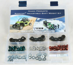Venom Products Rooster Adjustable Clutch Weights 40-56 Grams 930994
