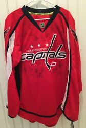 Signed Jersey 2012 2013 Washington Capitals Team Issued Ovechkin Auto Authentic