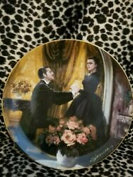 Gone With The Wind Golden Anniversary Series The Proposal 1988 China Plate