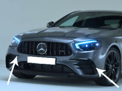 Amg E Class Front Canards Flaps W213 S213 E53 Look Models From August 2020