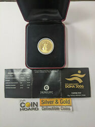 15th Asian Games Doha 2006 Coffee Pot 10g Gold Proof Coin