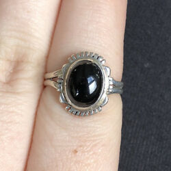Navajo Sterling Silver L. Yazzie Ring 2.80g Size 7
