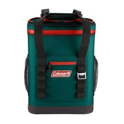 Coleman 24 Can High Performance Leak Proof Soft Cooler Backpack Evergreen $125.54