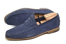 Kiton Penny Loafer Slippers Made In Italy Uk10 / Us11 / 44eur Shoes Slip On