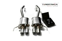 Armytrix Stainless Exhaust System Quad Chrome Silver Tips | 2014-20 Corvette Z06