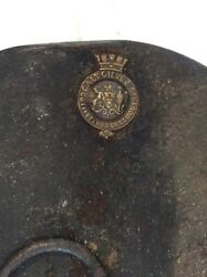 19th C. Galt Gieve And Co Tin Epaulettes Box Outfitters For British Royal Navy