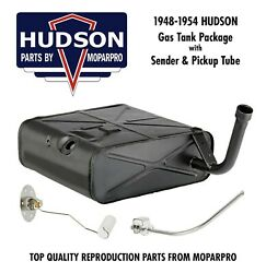 1948 Hudson New Complete Fuel / Gas Tank Package - New Tank Sending Unit Tube
